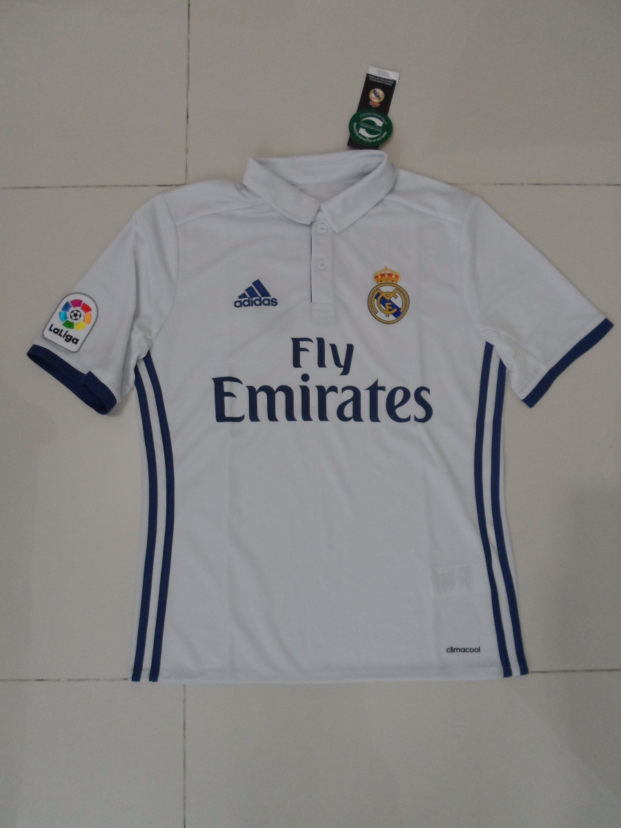 6f590cb0b913b Jersey adidas Real Madrid Original Para Niño