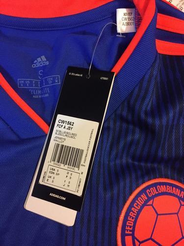 jersey adidas seleccion d colombia 100%original rusia cw1562