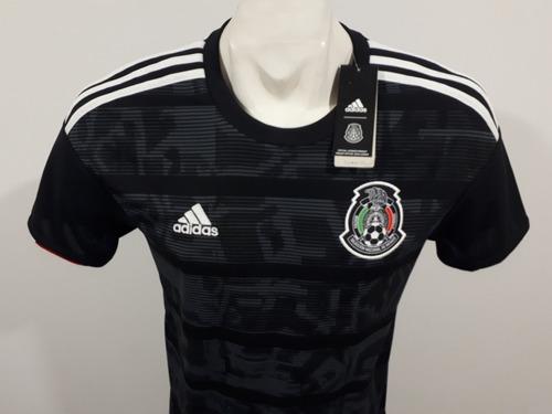 jersey adidas selección de méxico 2019 local hombre dp0206