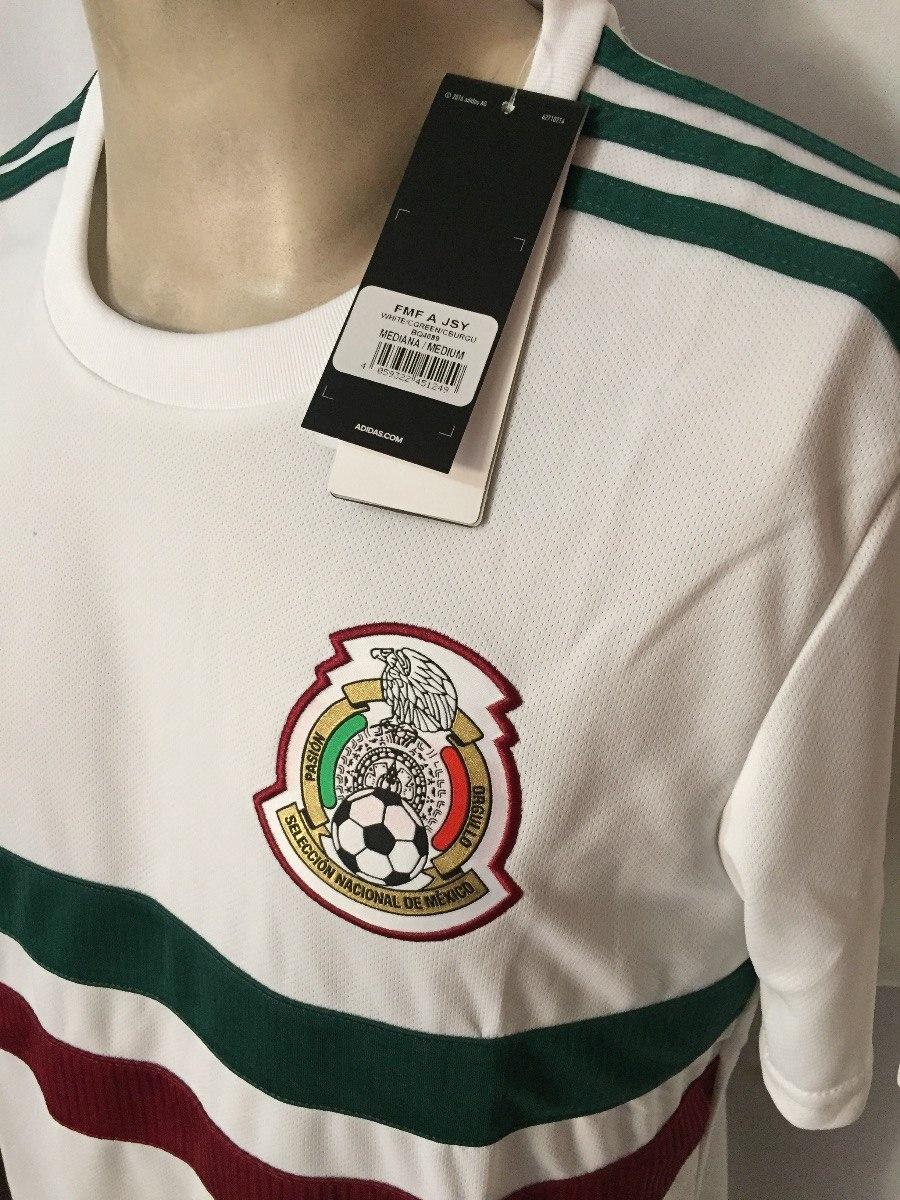 jersey adidas seleccion de méxico futbol 100%original bq4689. Cargando zoom. 920c418ea7fb7
