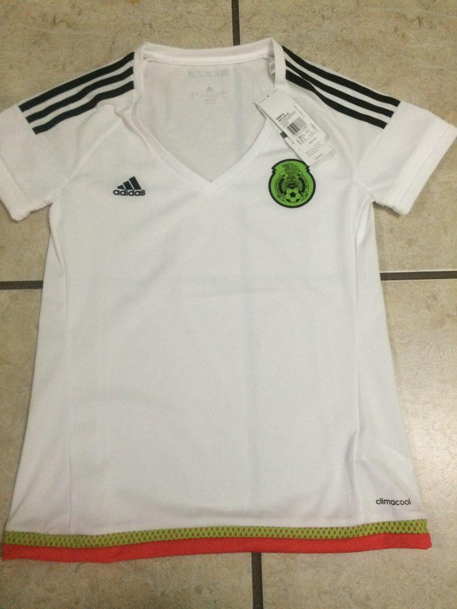 9f4956b2a4656 jersey adidas seleccion mexicana 100% original de mujer. Cargando zoom.