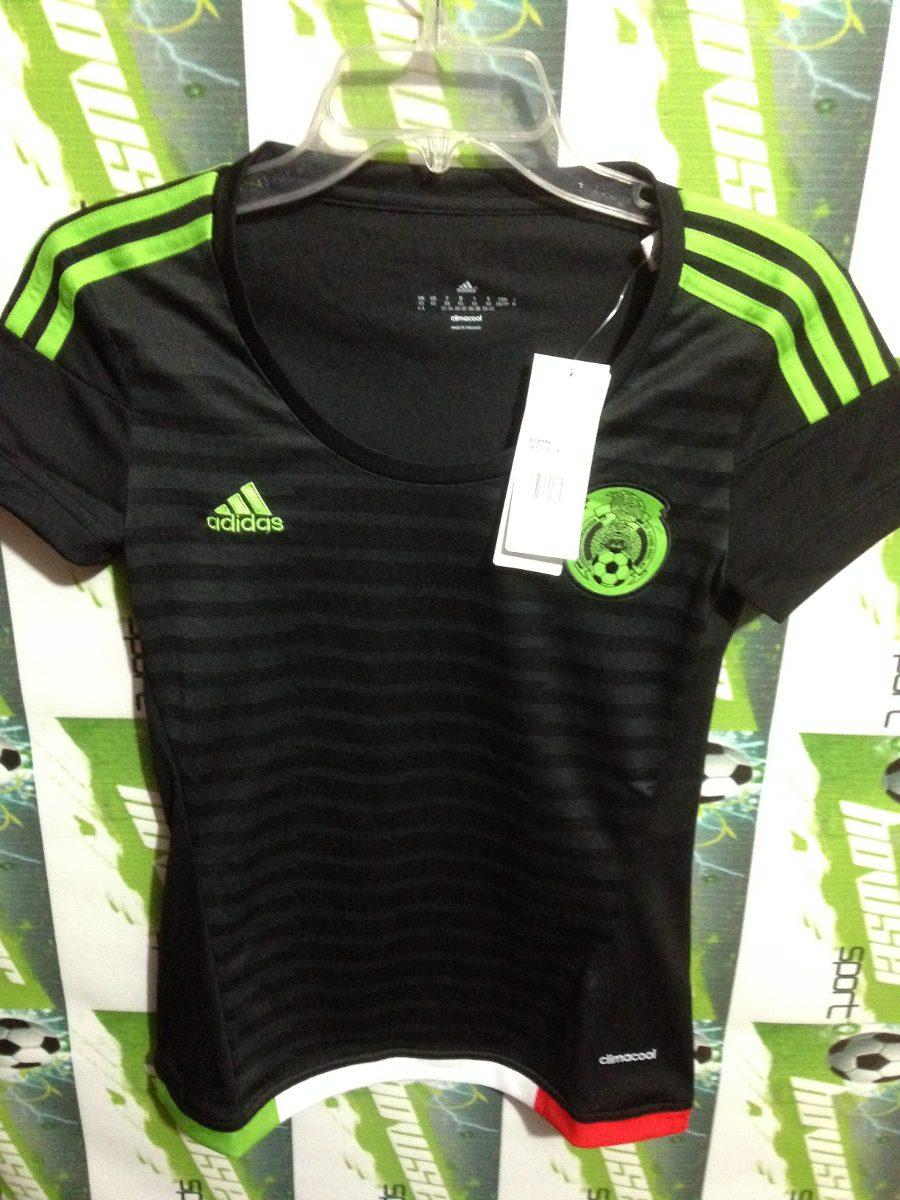 496d20dd1ecc7 jersey adidas seleccion mexicana 100%original d mujer m35996. Cargando zoom.