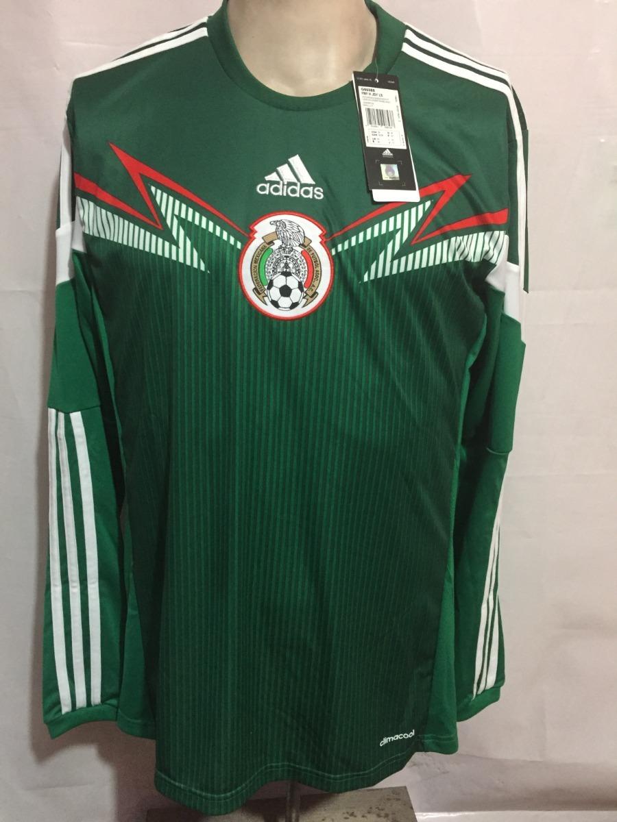 Jersey adidas Seleccion Mexicana 2014 100%original G86988 -   699.00 ... a071304c055b5