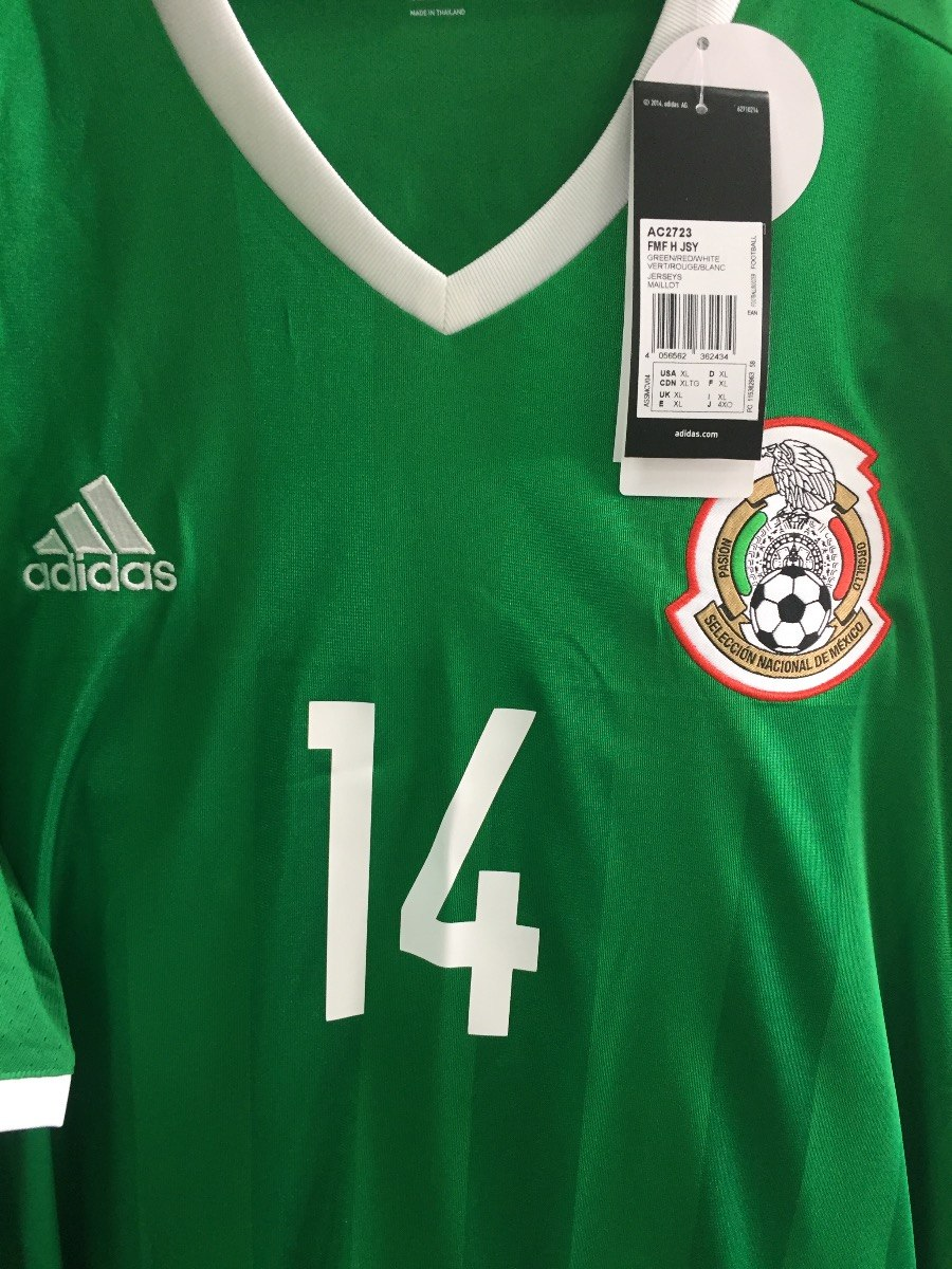 jersey adidas seleccion mexicana 2016 100%original ac2724. Cargando zoom. cca27d25a9b46