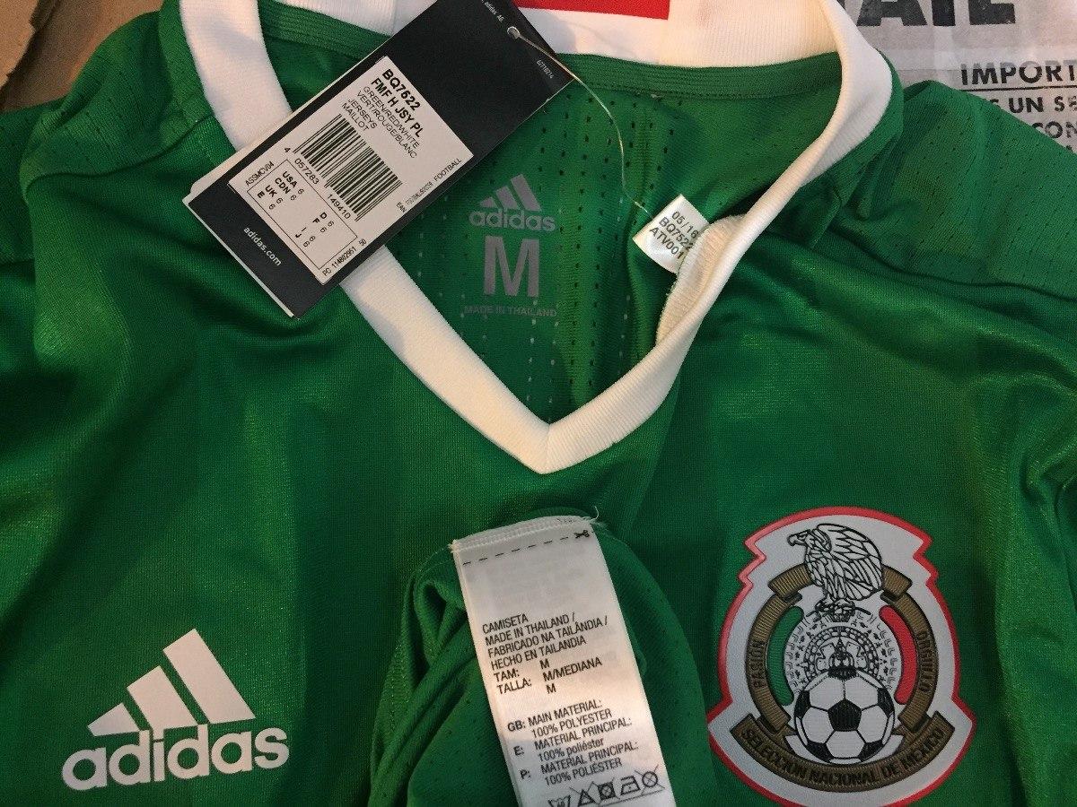 jersey adidas seleccion mexicana 2016 adizero prof bq7522. Cargando zoom. 8f42e530ca359