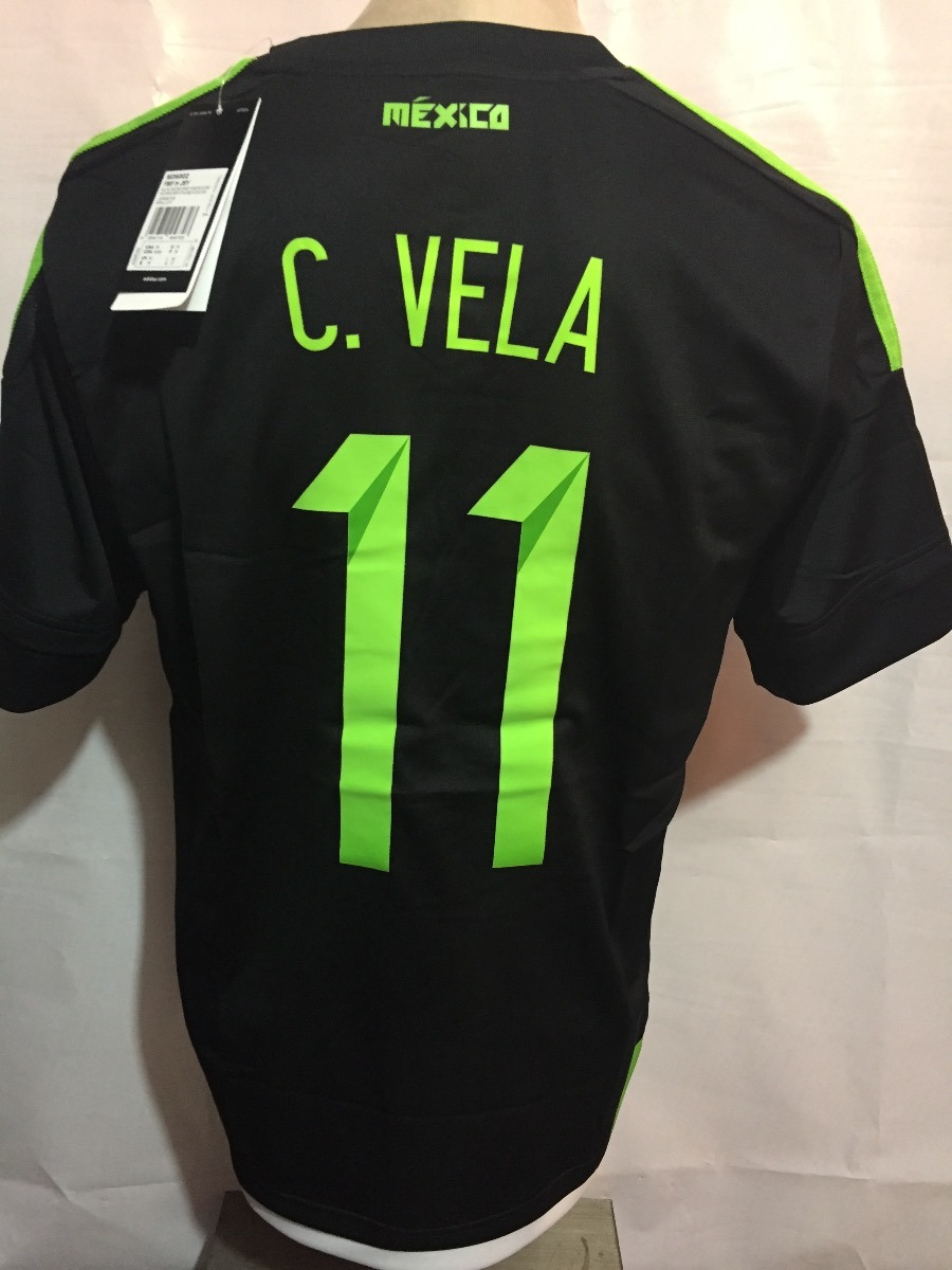 Jersey adidas Seleccion Mexicana C. Vela 100%original Oferta ... a89fab6b65fa5