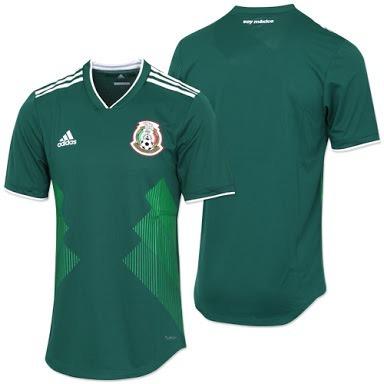 daaadacaa9adc Jersey adidas Seleccion Mexicana Climachill Profesional 2018 ...