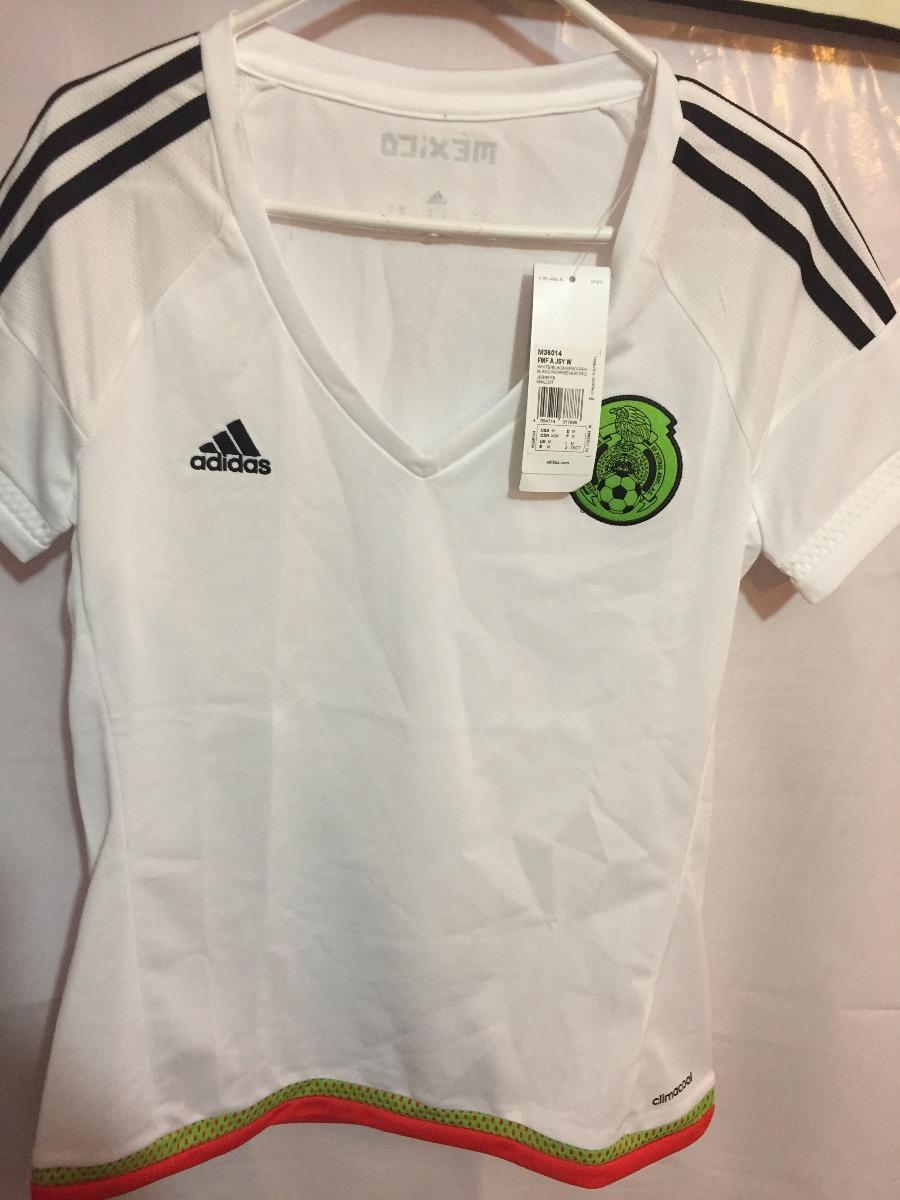 2788d1aeaaea8 jersey adidas seleccion mexicana d mujer 100%original m36014. Cargando zoom.