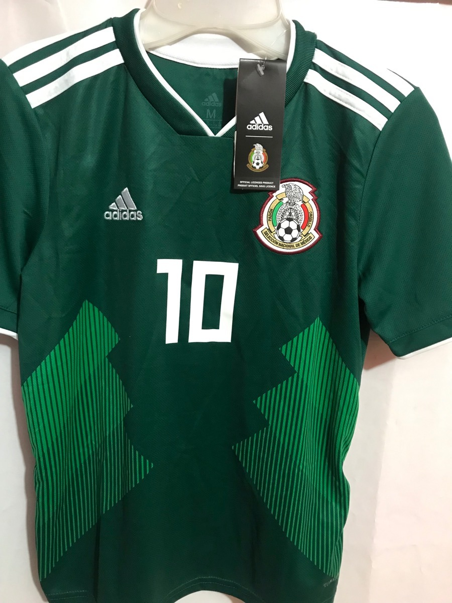 jersey adidas seleccion mexicana original niño g. dos santos. Cargando zoom. 8afe1179e6cb8