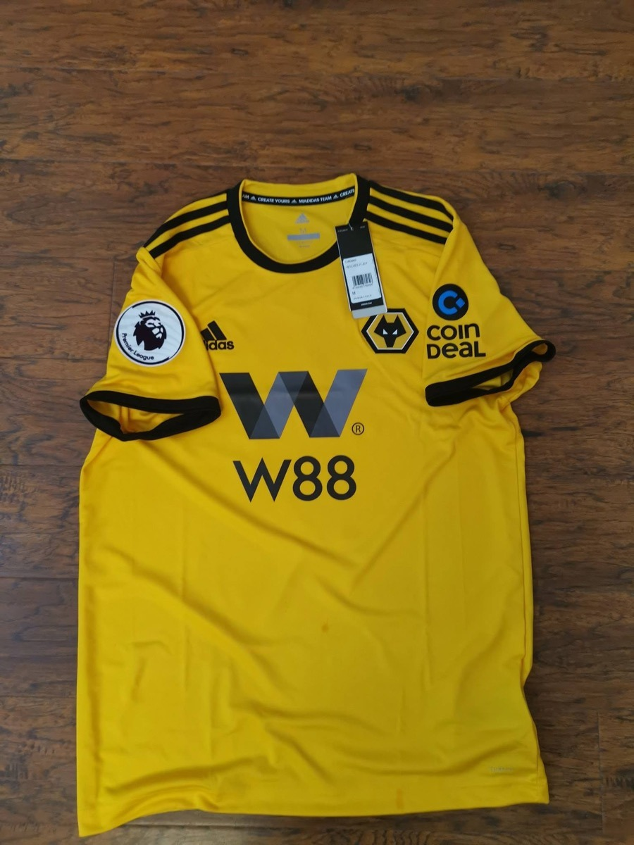 f534f3587a4 jersey adidas wolverhampton 2019 raul jimenez original. Cargando zoom.