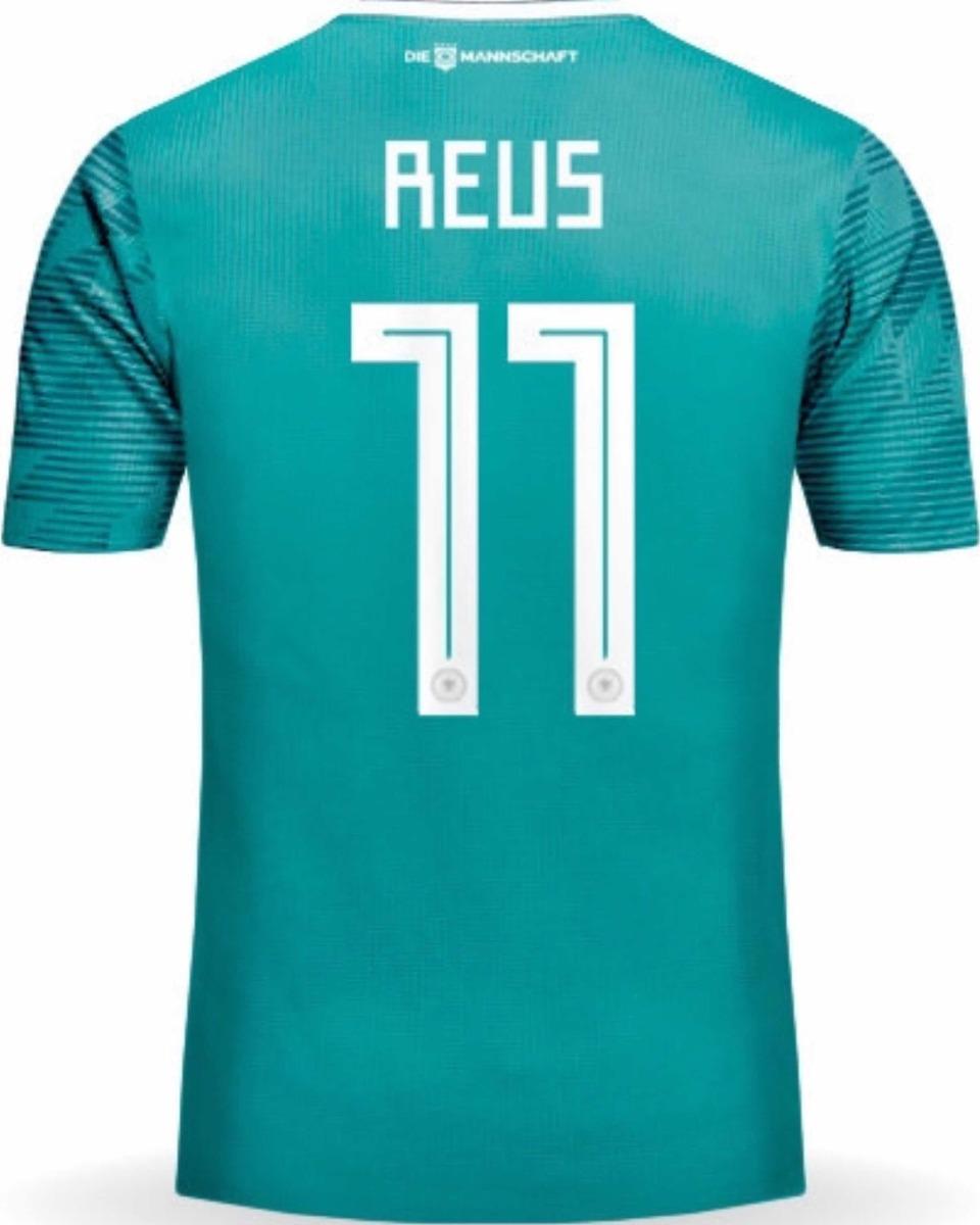 Jersey Alemania 2018 Visita Verde Marco Reus Envío Gratis - $ 798.00 ...
