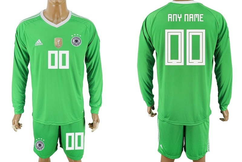 jersey alemania portero mundial rusia 2018 manga larga verde. Cargando zoom. fec26376f2994