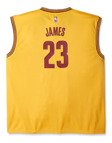factory price 14320 7219c Jersey Amarillo Lebron James Cleveland Cavaliers adidas Nba