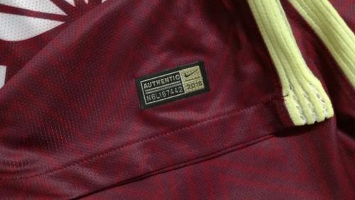 jersey américa 16-17 local & visita manga corta centenario*