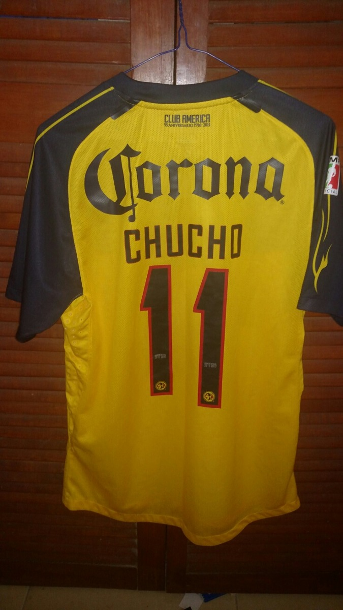 official photos fd906 60173 Jersey América 2012-2013 Local Utileria Chucho Benitez