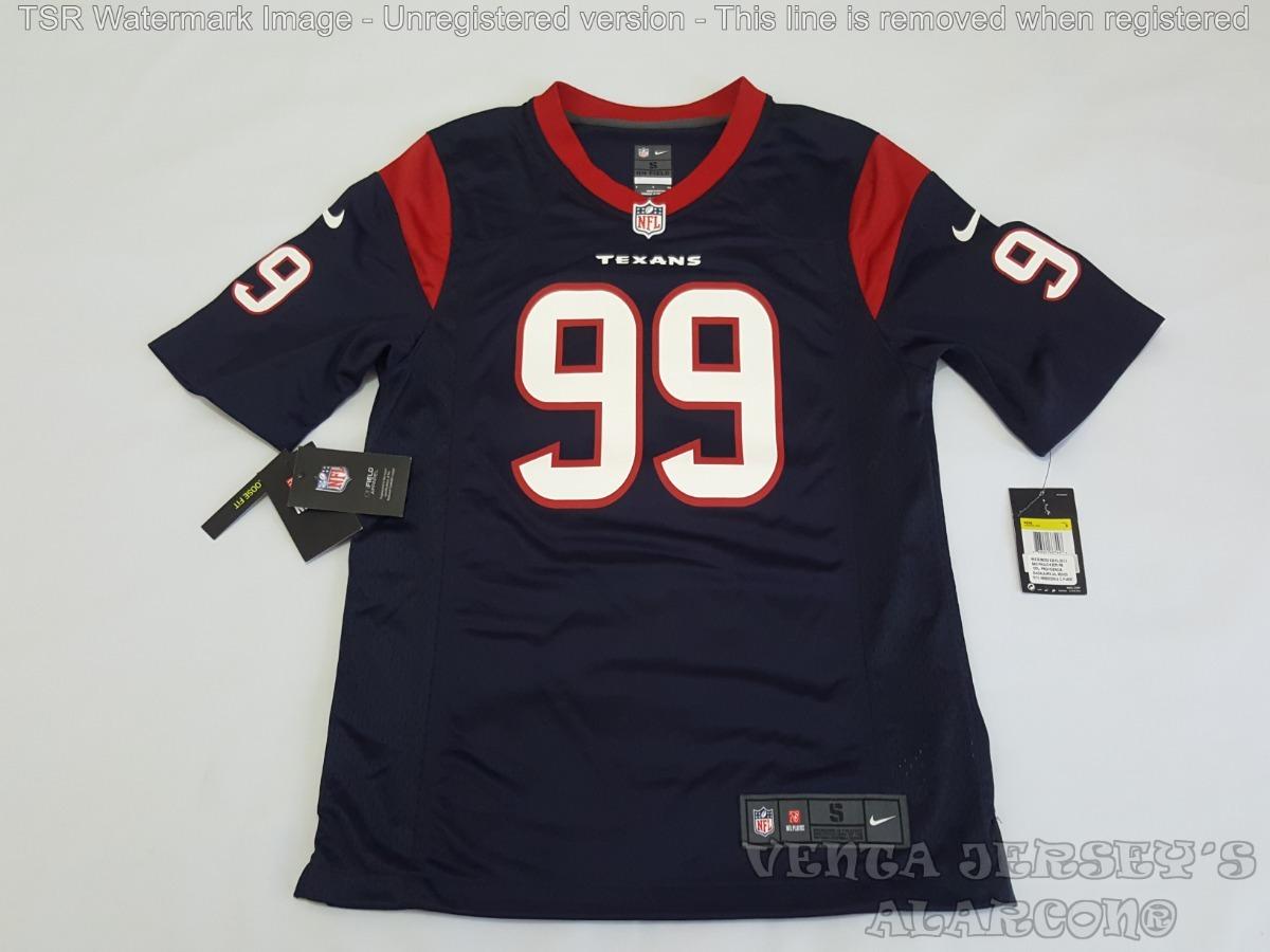 new style d0501 62d17 Jersey Americano Nfl Houston Texans #99 Watt Nike Original