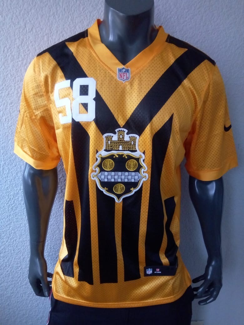 best website 6d9cd 7913d Jersey Americano Pittsburgh Steelers Jack Lambert 2xl