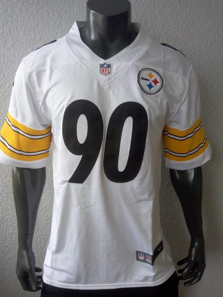sports shoes 9be5e ad41c Jersey Americano Pittsburgh Steelers T.j. Watt Mediana