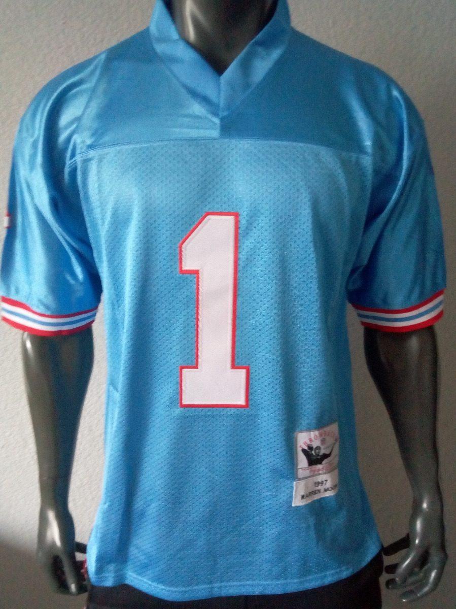 half off d279e 20292 Jersey Americano Retro Houston Oilers Warren Moon Grande