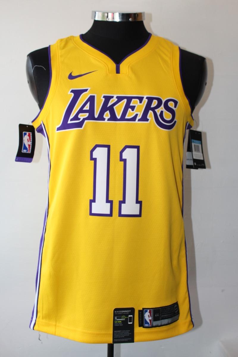 finest selection 8d970 f6e5a Jersey Angeles Lakers Nike Lopez 100% Original Talla S Xl