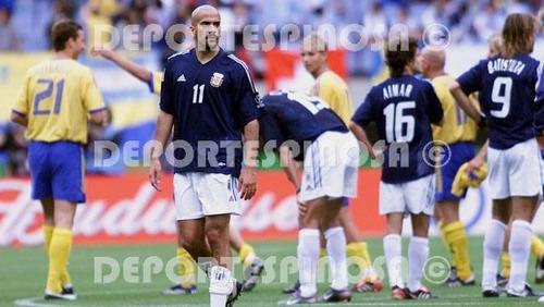 jersey argentina 2002 adidas visita manga corta #9 batistuta