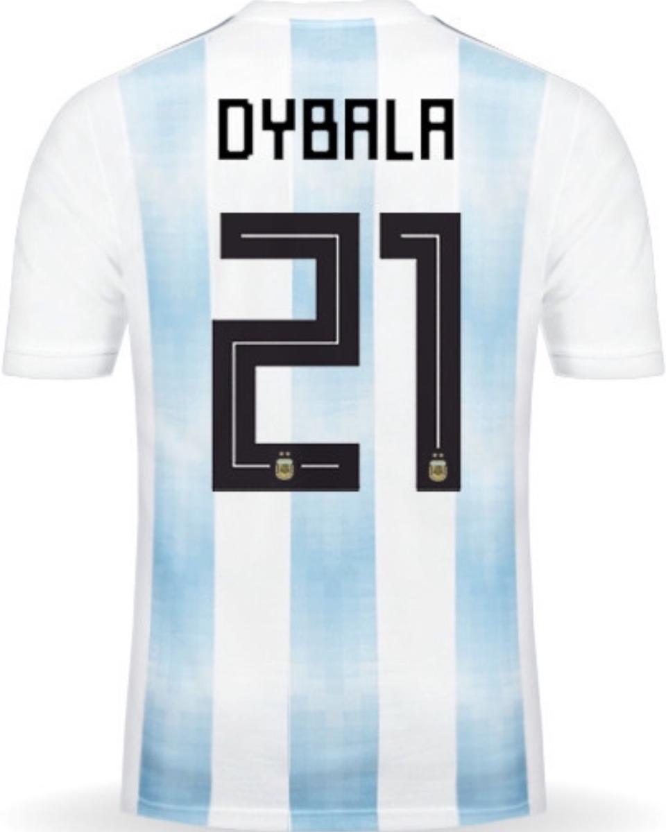 8d3be091d jersey argentina 2018 local rusia paulo dybala envío gratis. Cargando zoom.