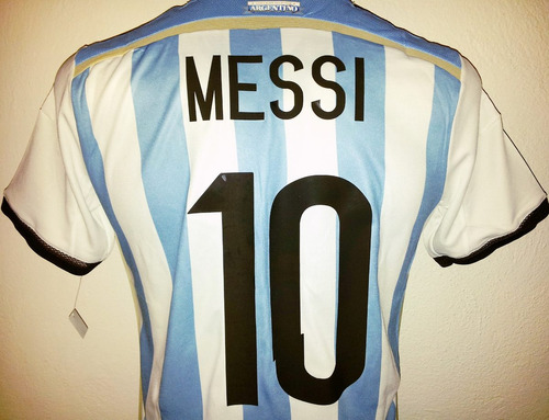 jersey argentina albiceleste 2014 lionel messi