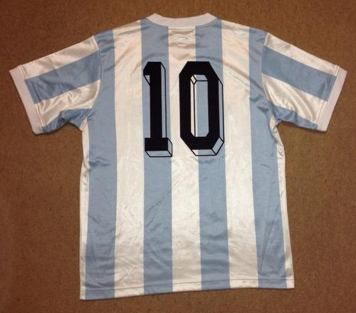jersey argentina maradona tipo retro grande adidas local