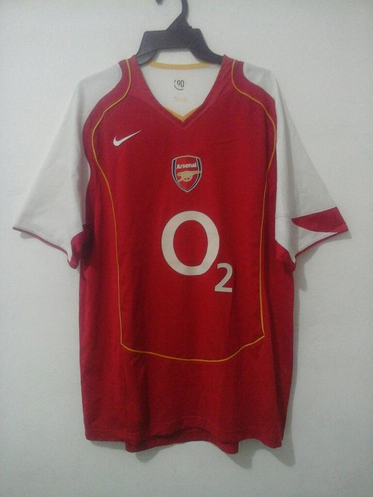 low priced 879d7 5953b Jersey Arsenal Nike 2004-2005 Envio Gratis! - $ 599.00