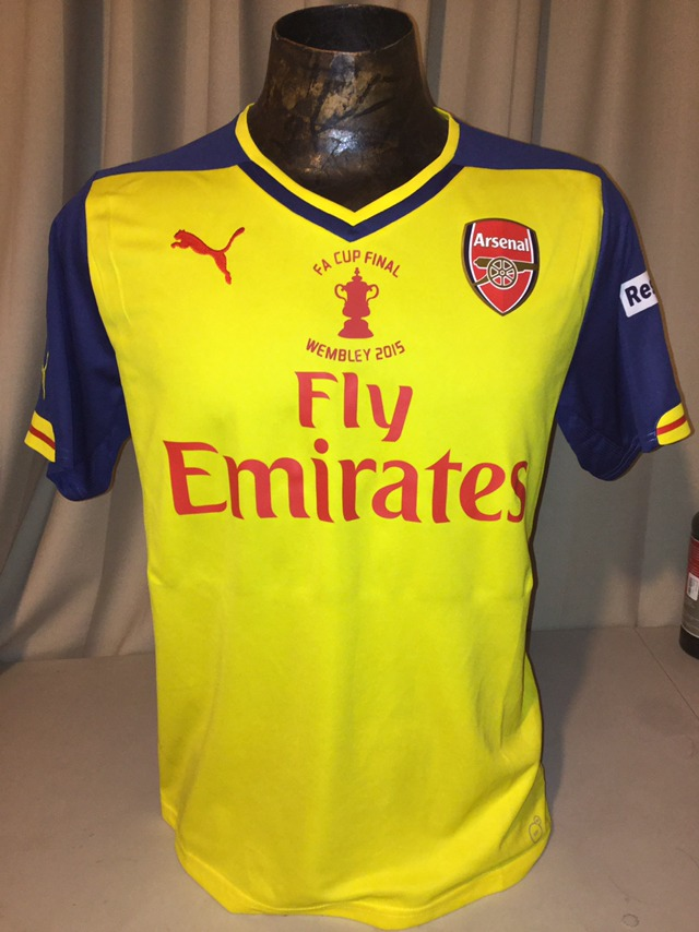 huge discount 031df 490c6 Jersey Arsenal Original Ozil Final Fa Cup 2014 Puma