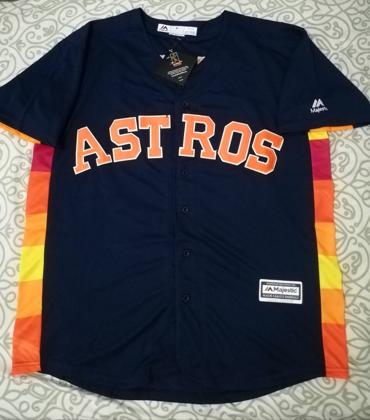 size 40 2e6c5 800b6 Jersey Astros De Houston, Majestic, #35 Verlander Xl