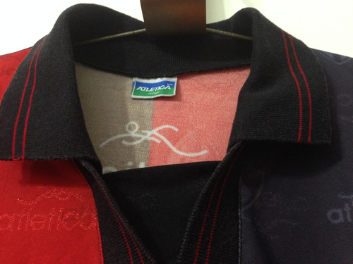 jersey atlas, marca atletica, manga corta, talla l