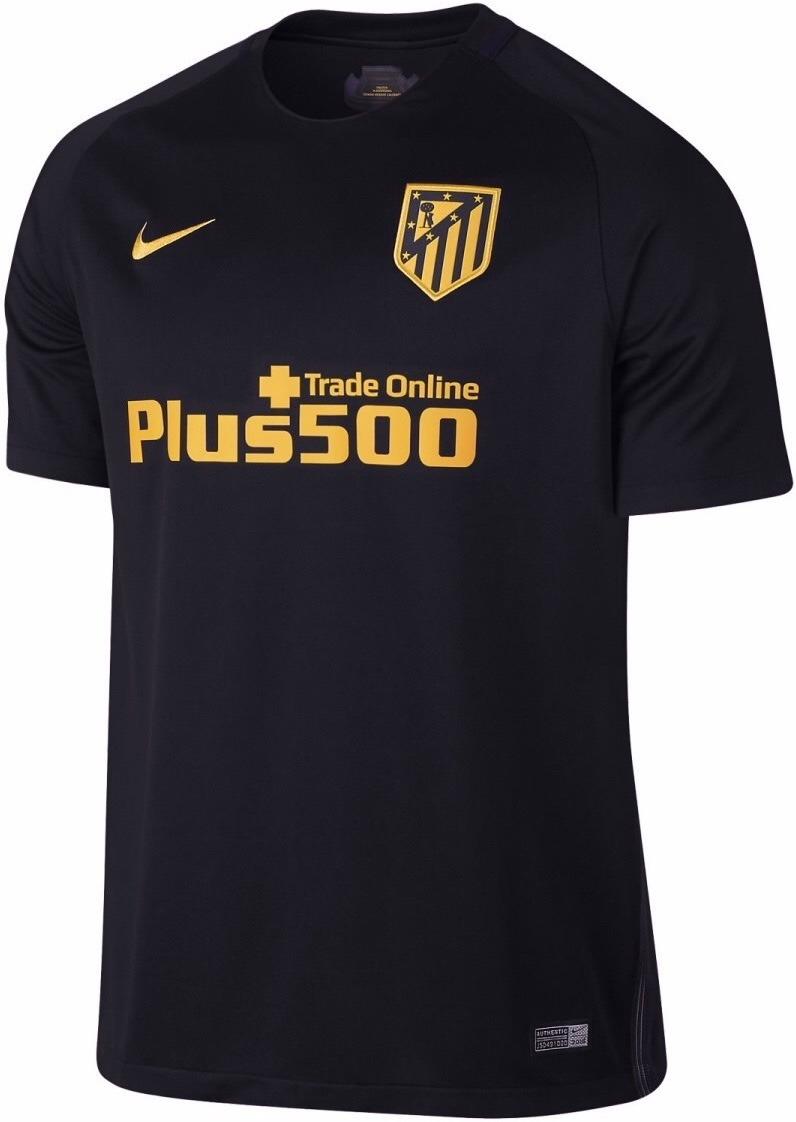 cheap for discount ee6f4 c97ee Jersey Atlético De Madrid 2017 Negro Griezmann Envío Gratis