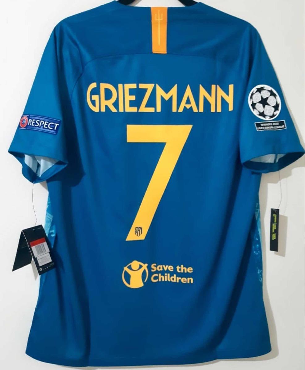 wholesale dealer 2588b ba08b Jersey Atlético De Madrid Nike Griezmann 7 Champions League