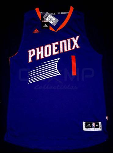 various colors e5c14 bc64f Jersey Autografiado Devin Booker Phoenix Suns Nba adidas
