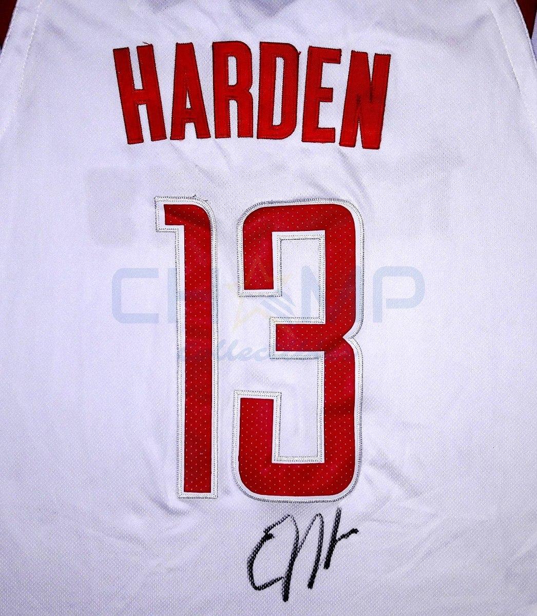 0c6a4f90bc1 jersey autografiado james harden houston rockets nike nba. Cargando zoom.