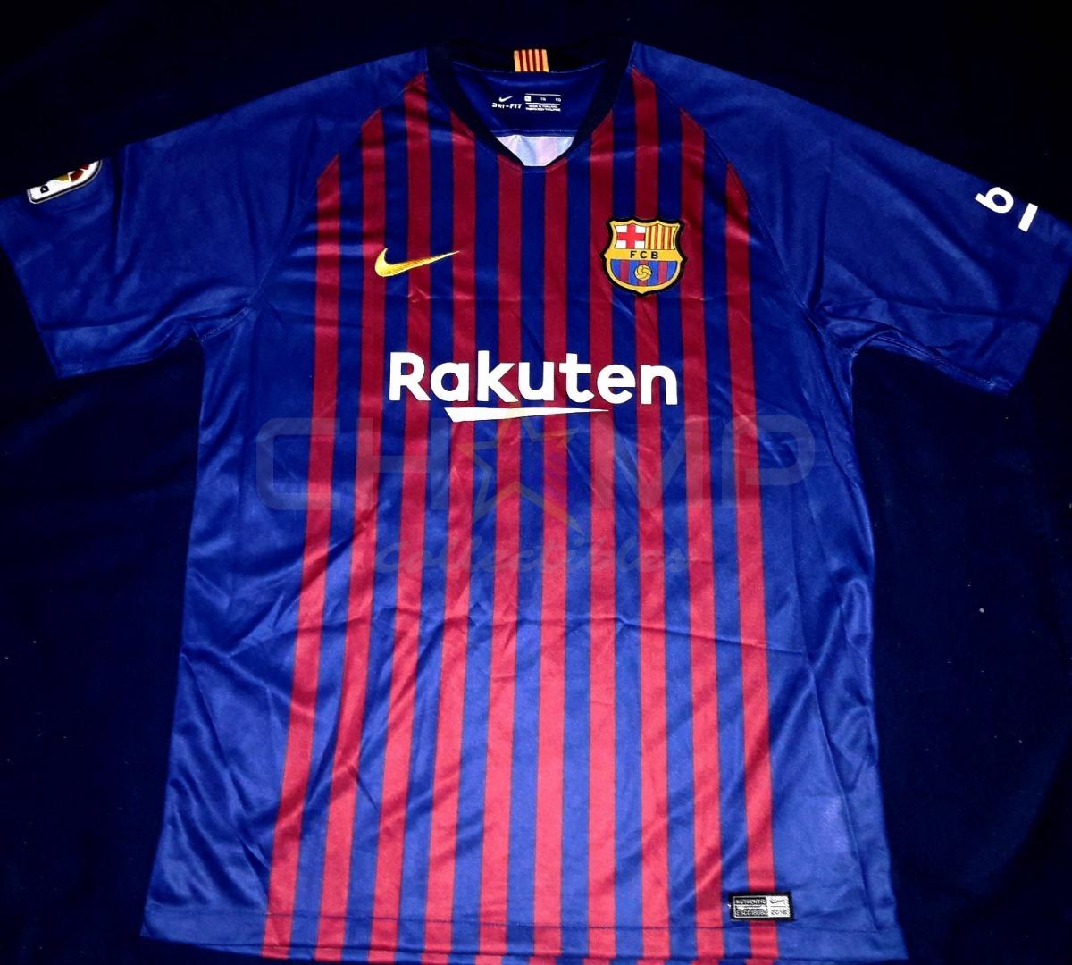 best cheap 65bcd d3d0f Jersey Autografiado Ousmane Dembele Barcelona 2018-19 Nike