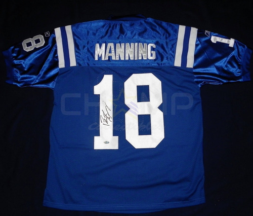 quality design f3863 f70c0 Jersey Autografiado Peyton Manning Indianapolis Colts Reebok