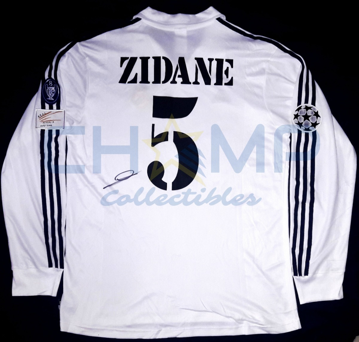 best website 3f925 ed04c Jersey Autografiado Zinedine Zidane Real Madrid Centenario