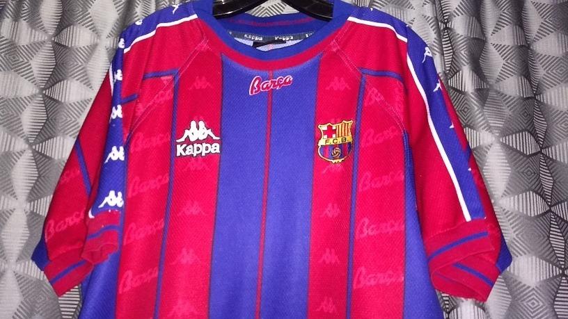 online retailer 2f395 fb9b5 Jersey Barcelona 1997 Kappa