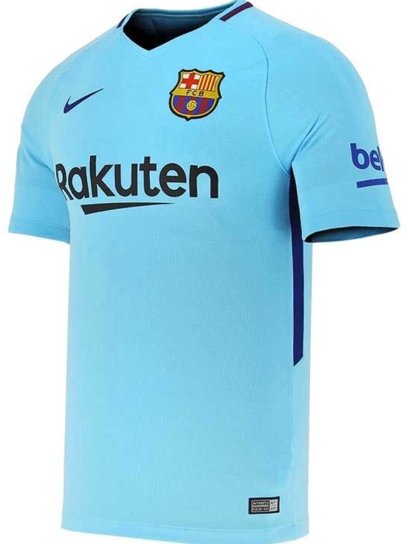 e8d6887a634 Jersey Barcelona 2018 Visita Messi Suárez Dembélé Env Gratis ...