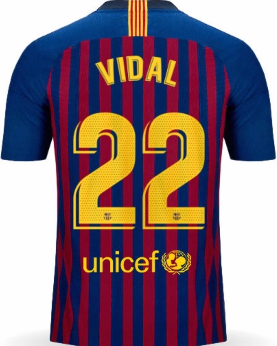 online store b59e2 a5637 Jersey Barcelona 2019 Local Arturo Vidal Envío Gratis