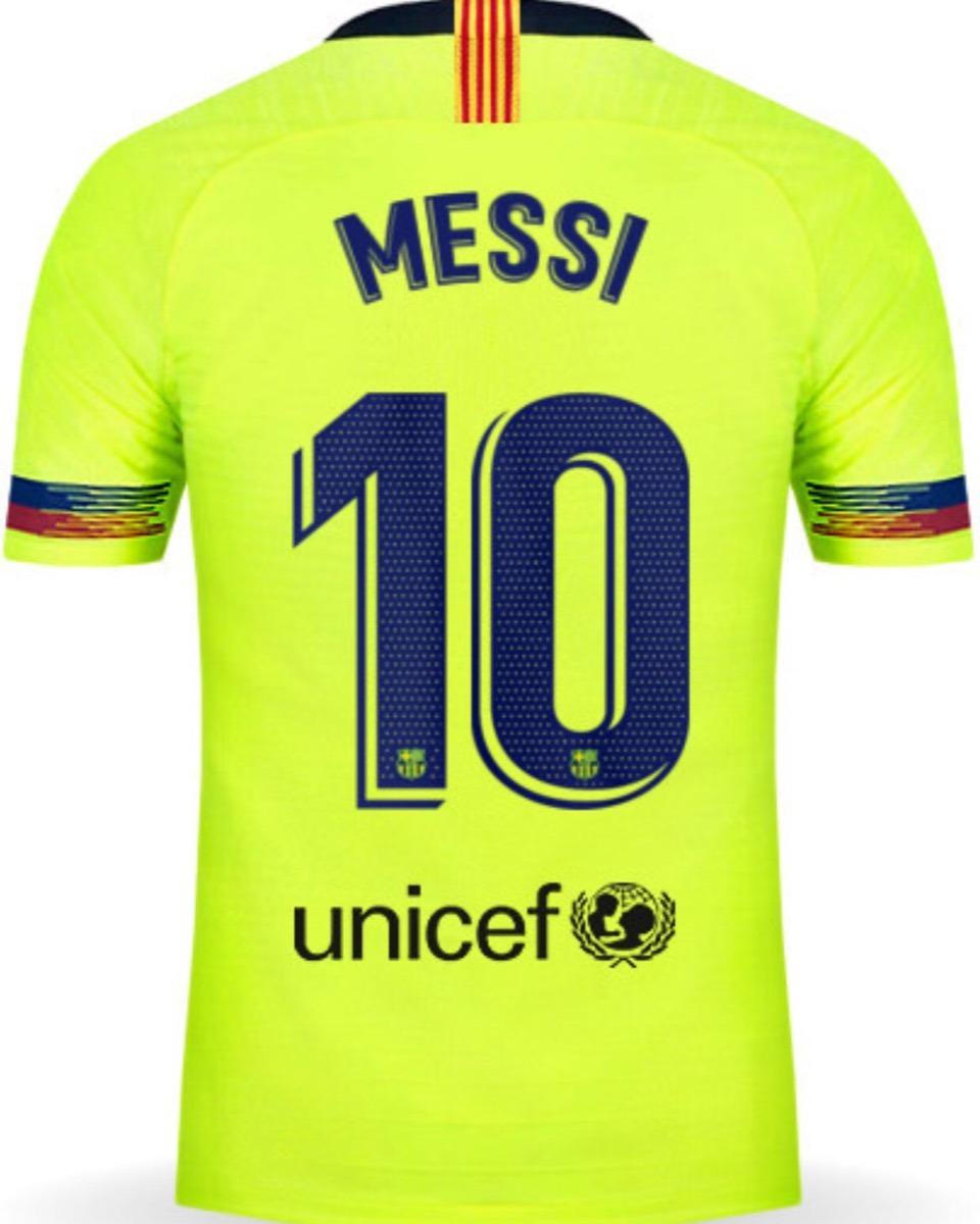 Jersey Barcelona 2019 Visita Lionel Messi Envío Gratis -   849.00 en ... f55398f0f21