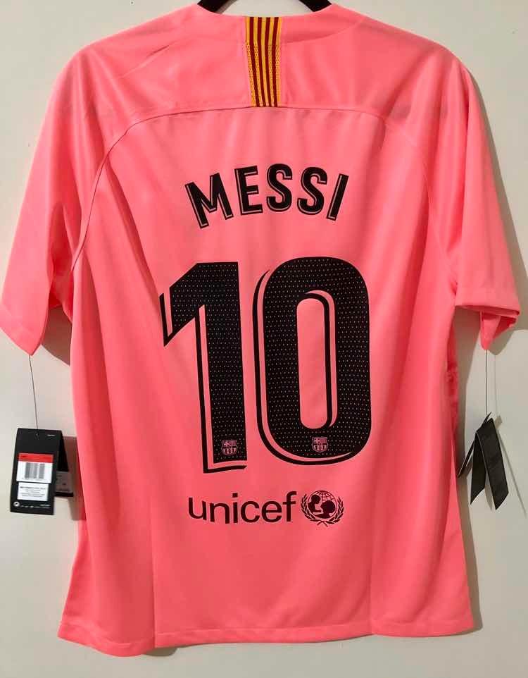 new style 704b9 a641b Jersey Barcelona Alternativo 18-19 Nike Lionel Messi 10