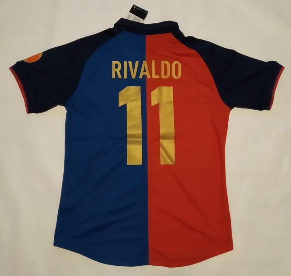 uk availability 9b2d5 b40f2 Jersey Barcelona Edicion Centenario, Rivaldo 11