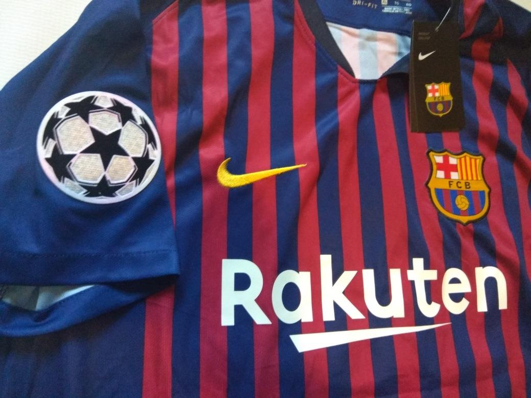 competitive price abf34 2786f Jersey Barcelona Edición Champions League, Messi 10