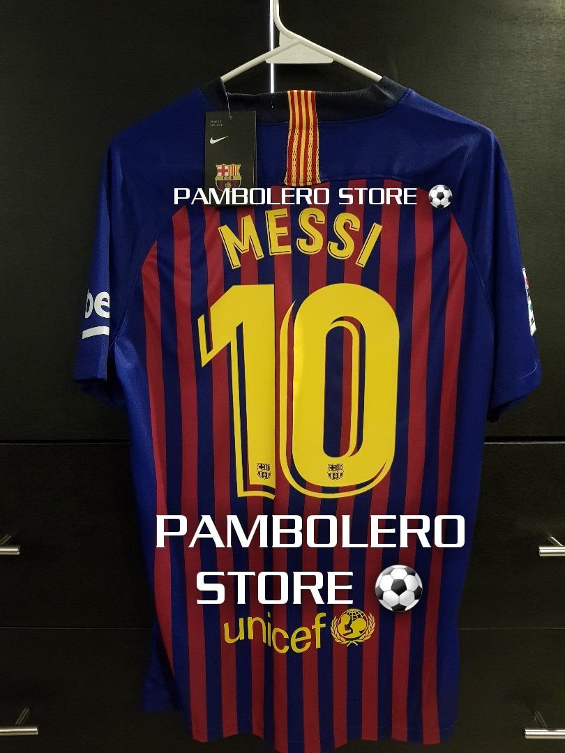 jersey barcelona lio messi  10 (temp.18 19) envío gratis dhl. Cargando zoom. 54e37146733