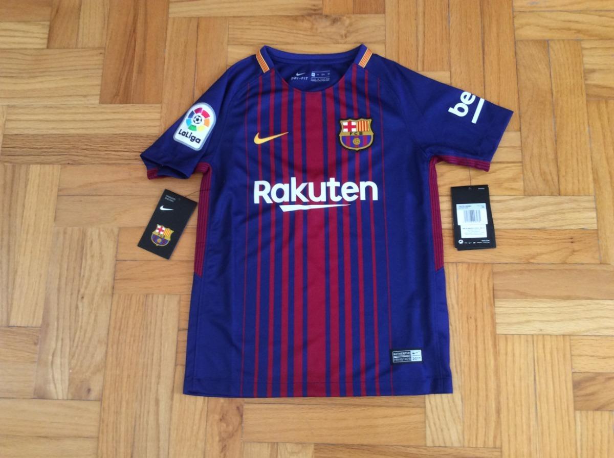 99899bd611452 jersey barcelona local infantil niño 2017-2018 nike original. Cargando zoom.