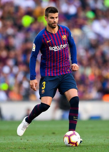 jersey barcelona local nike 2019 larga messi piqué suárez