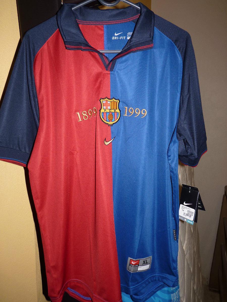 promo code 14aff c3736 Jersey Barcelona Nike Talla Xl Centenario #11 Rivaldo